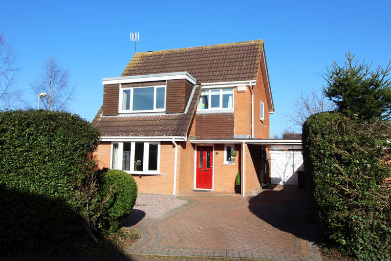 4 Bedrooms Detached House for sale in Nunnery Lane, Worcester, WR5