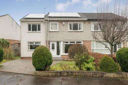 3 Bedrooms Semi Detached House for sale in Craig Gardens, Newton Mearns