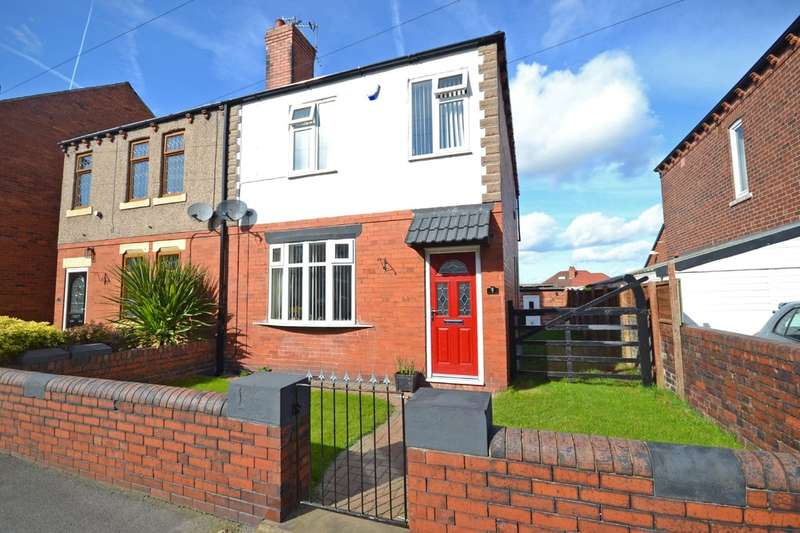 3 Bedrooms Semi Detached House for sale in Bromley Mount, Wakefield