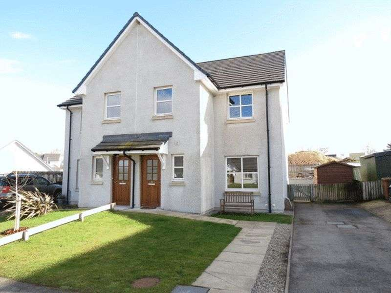 3 Bedrooms Semi Detached House for sale in Broomhill Road, Muir Of Ord