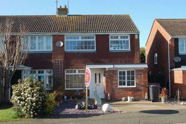 3 Bedrooms Semi Detached House for sale in Brockwood Close, Duston, Northampton NN5 6LY