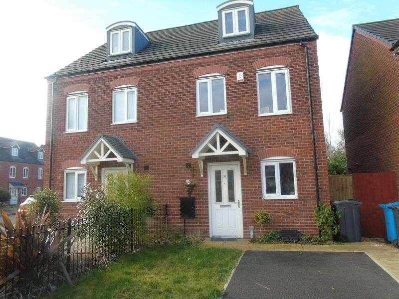 3 Bedrooms Semi Detached House for sale in Speakman Way, Prescot