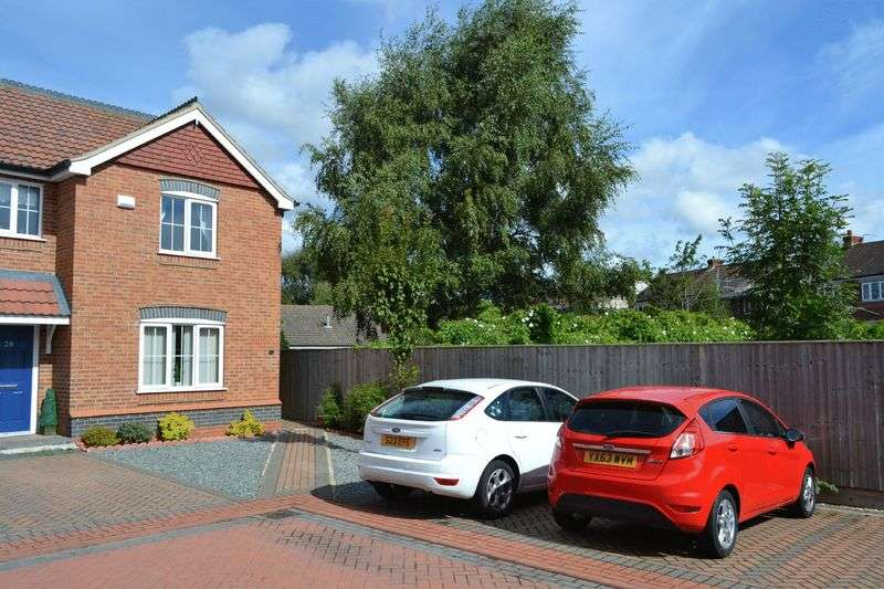 2 Bedrooms Terraced House for sale in Old School Close, Brigg