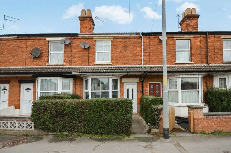 2 Bedrooms Terraced House for sale in 104 Grantham Road, Sleaford, NG34 7NW