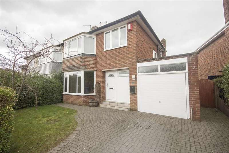 3 Bedrooms Semi Detached House for sale in 114 Montagu Avenue, Gosforth, Newcastle upon Tyne NE3