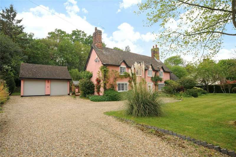 5 Bedrooms Detached House for sale in The Street, Horringer, Nr. Bury St Edmunds, Suffolk, IP29