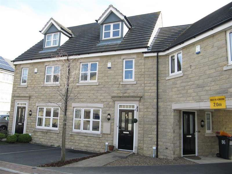3 Bedrooms Terraced House for sale in Plover Mills, Lindley, Huddersfield, HD3