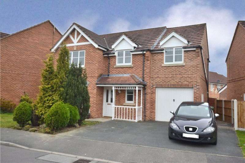4 Bedrooms Detached House for sale in Gleneagles Drive, Normanton, West Yorkshire