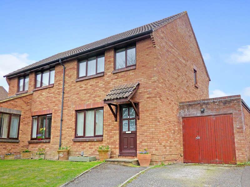 3 Bedrooms Semi Detached House for sale in Cheyney Walk, Westbury