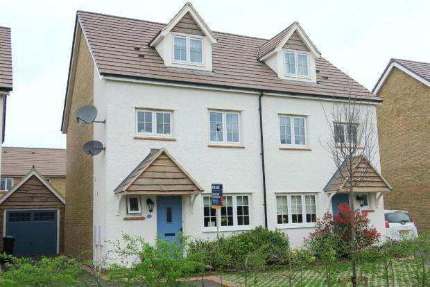 4 Bedrooms Semi Detached House for sale in Hardys Road, Taunton TA2