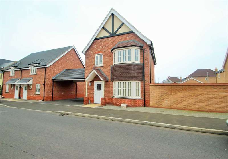 3 Bedrooms Detached House for sale in Eagle Drive, Colchester