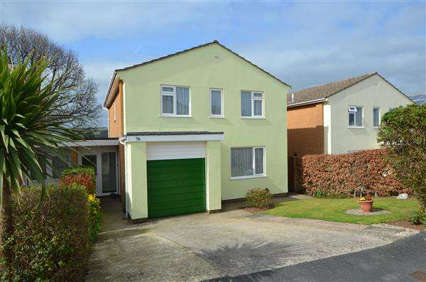 3 Bedrooms Detached House for sale in West Cliff Park Drive, Dawlish