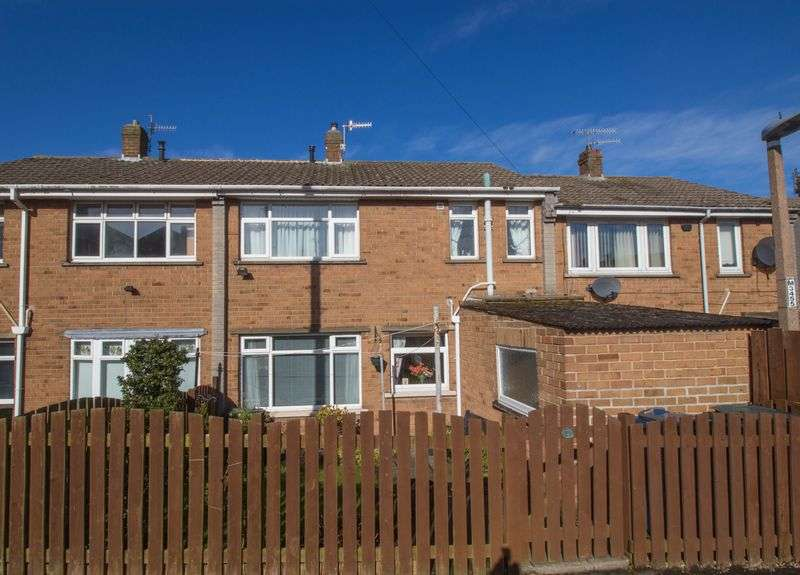 3 Bedrooms Terraced House for sale in Lily Close, Blaydon