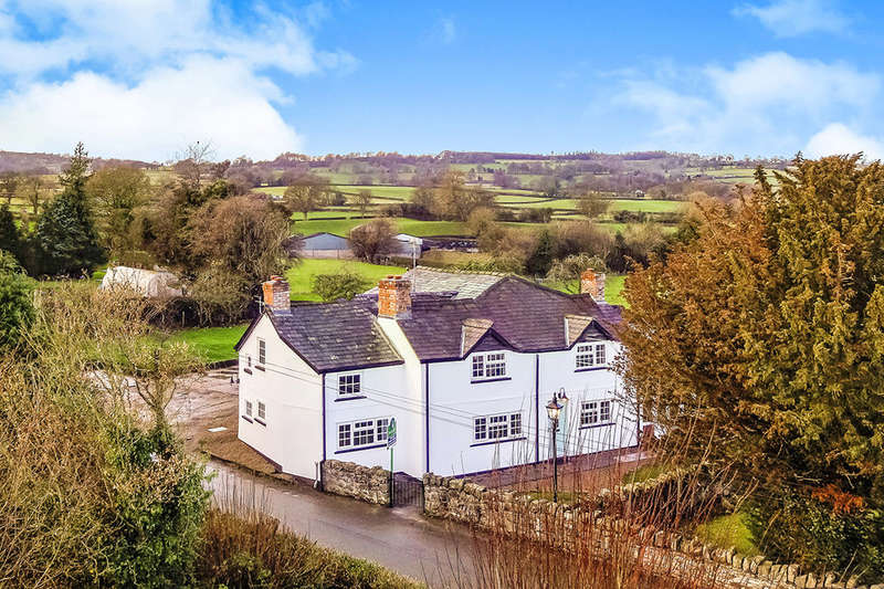 4 Bedrooms Detached House for sale in Eastwood, Wern,Weston Rhyn, Oswestry, SY10