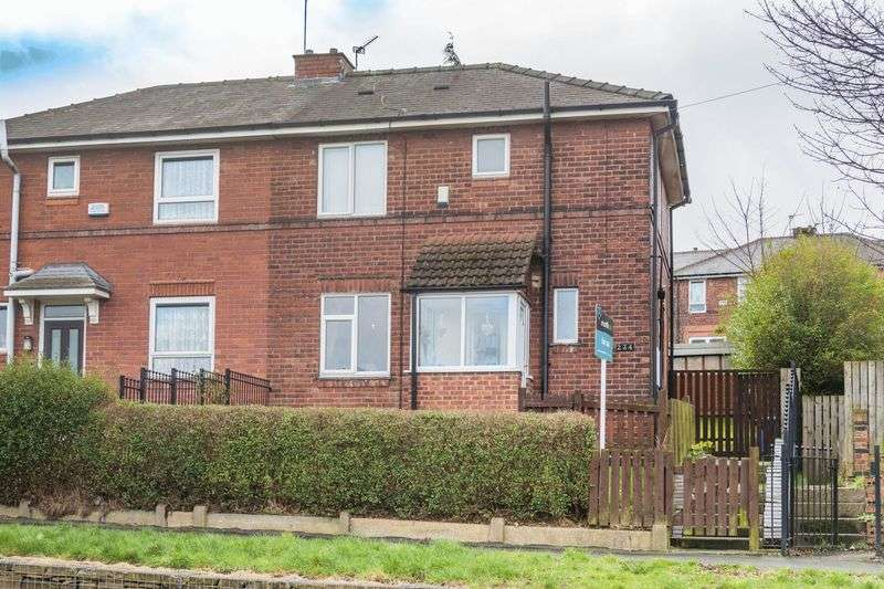 3 Bedrooms Semi Detached House for sale in Maltravers Road, Sheffield S2 5AH - LARGE REAR GARDEN!