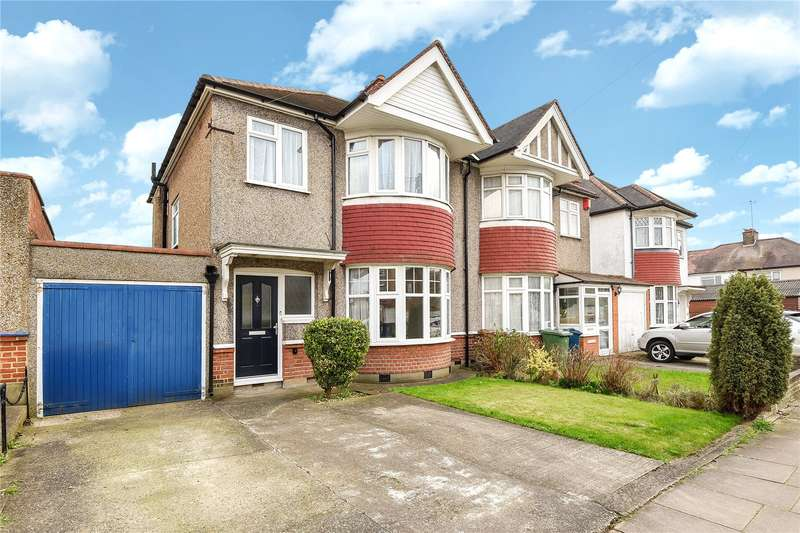 3 Bedrooms Semi Detached House for sale in Norwood Drive, Harrow, Middlesex, HA2