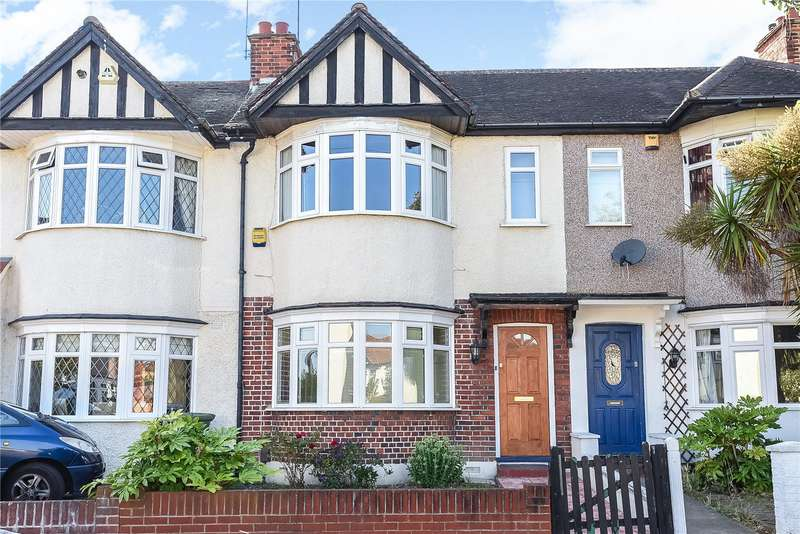 2 Bedrooms Terraced House for sale in Hatherleigh Road, Ruislip Manor, Middlesex, HA4
