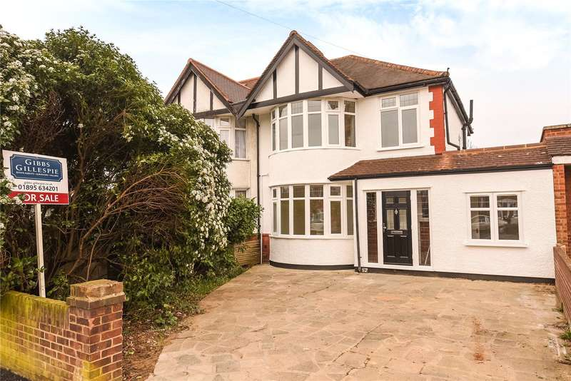 4 Bedrooms Semi Detached House for sale in West End Road, Ruislip, Middlesex, HA4