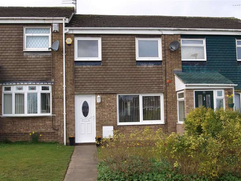 3 Bedrooms Terraced House for sale in Newlyn Drive, Cramlington
