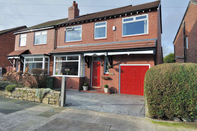 4 Bedrooms Semi Detached House for sale in Bonis Crescent, Great Moor, Stockport, Cheshire, SK2 7HH