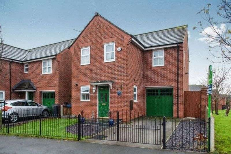 3 Bedrooms Detached House for sale in Layton Way, Prescot
