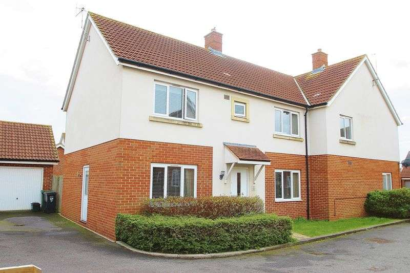 4 Bedrooms Semi Detached House for sale in Fennel Road, Portishead