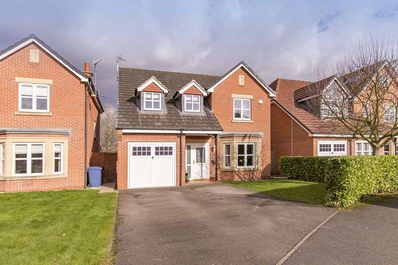 4 Bedrooms Detached House for sale in CARRADALE GROVE, CHELLASTON