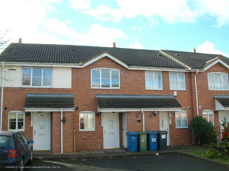 2 Bedrooms Town House for sale in Cygnet Drive, Tamworth B79 7RU