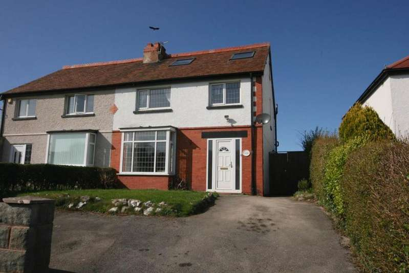 4 Bedrooms Semi Detached House for sale in Haulfryn, Bryn Pydew, LL31 9QA