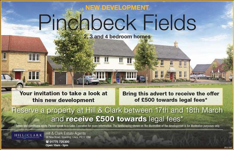 4 Bedrooms Detached House for sale in Pinchbeck Fields, Spalding