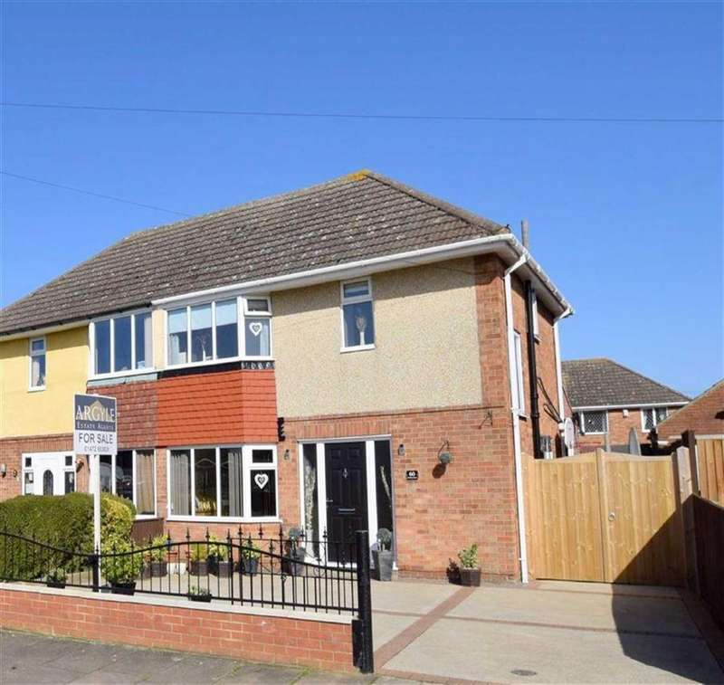 3 Bedrooms Semi Detached House for sale in Emfield Road, Scartho, North East Lincolnshire