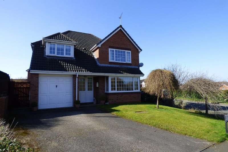 5 Bedrooms Detached House for sale in Hazel Close, Uttoxeter, ST14 8UT