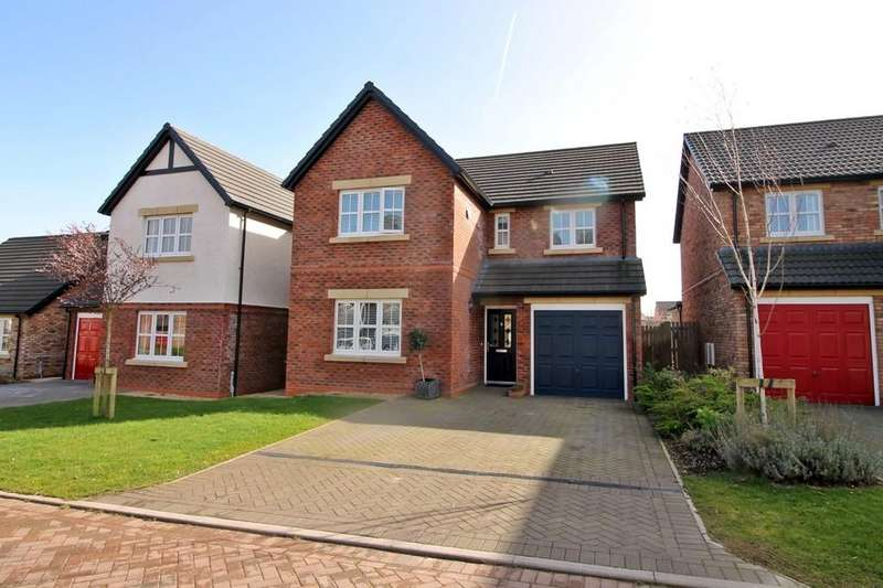 4 Bedrooms Detached House for sale in Grange Close, Wigton