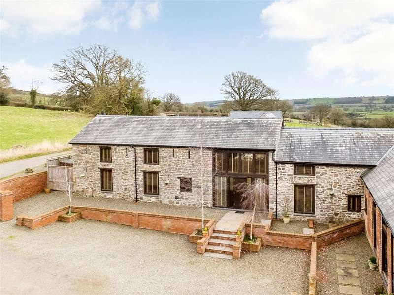 4 Bedrooms Barn Conversion Character Property for sale in Moonlight Barn, Snead, Montgomery, Powys