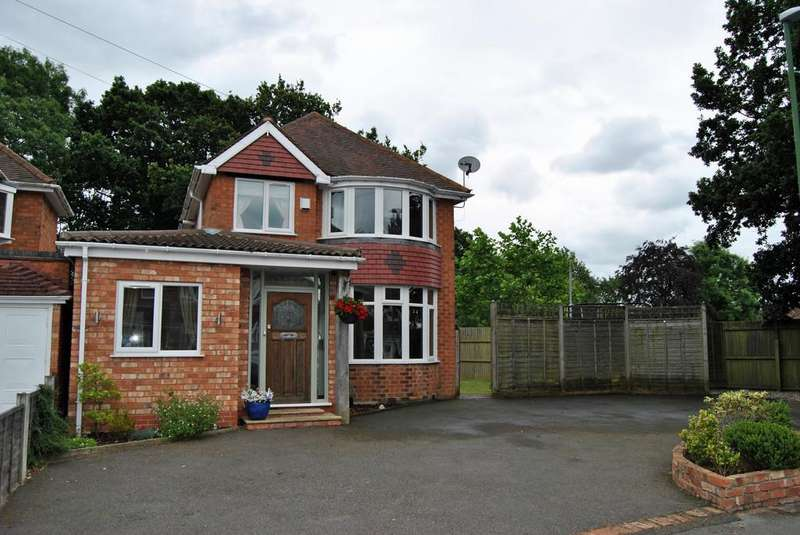 3 Bedrooms Detached House for sale in Stoneford Road, Solihull