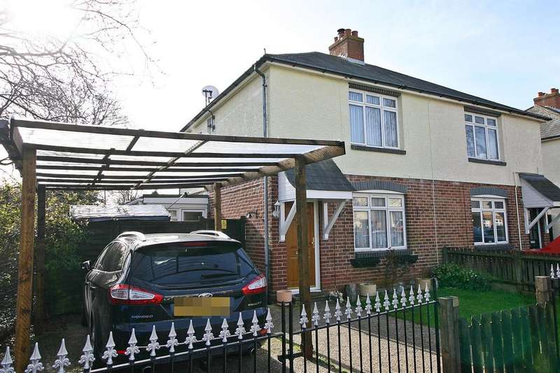 2 Bedrooms Semi Detached House for sale in Hunt Avenue, Netley Abbey, Southampton, SO31 5BE