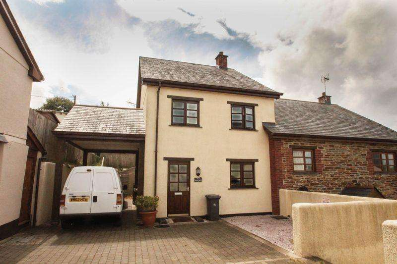 3 Bedrooms Semi Detached House for sale in 3 Rectory Road, Morchard Bishop
