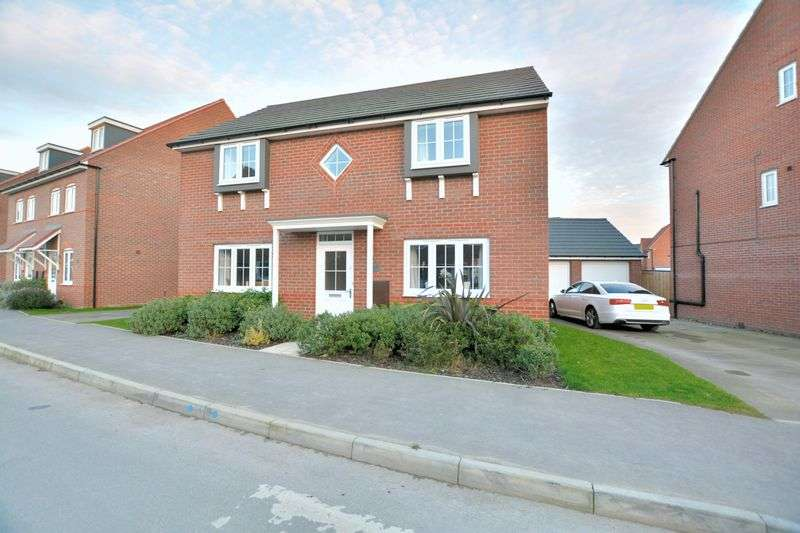 4 Bedrooms Detached House for sale in Vespasian Way, North Hykeham, Lincoln