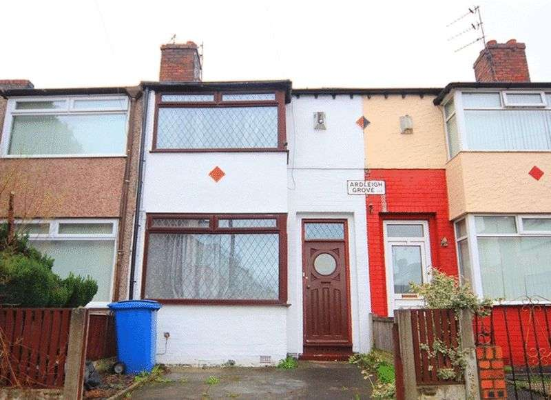 2 Bedrooms Terraced House for sale in Ardleigh Grove, Old Swan, Liverpool, L13