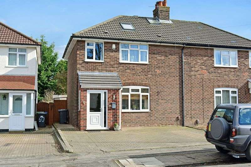 4 Bedrooms Semi Detached House for sale in Georges Crescent, Grappenhall, Warrington