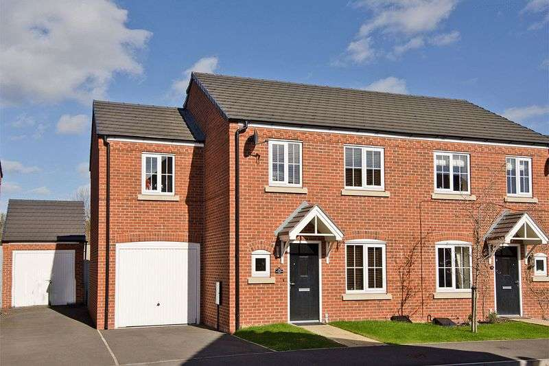 3 Bedrooms Semi Detached House for sale in Rudyard Way, Bridgetown, Cannock