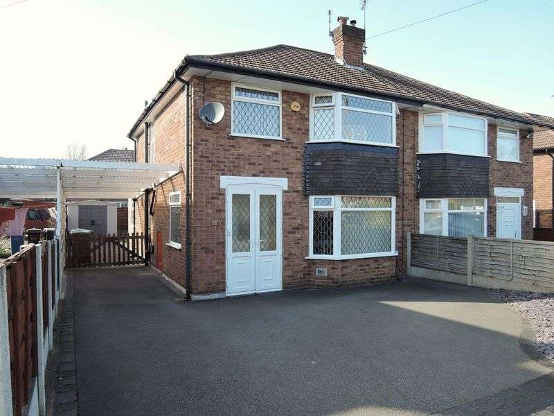3 Bedrooms Semi Detached House for sale in Cornwall Road, Heald Green