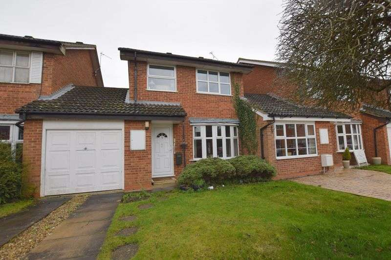 3 Bedrooms Detached House for sale in Aidan Close, Aylesbury