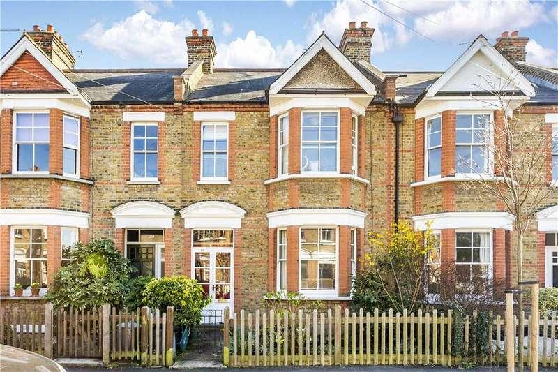 3 Bedrooms Terraced House for sale in Kenwyn Road, London, SW20