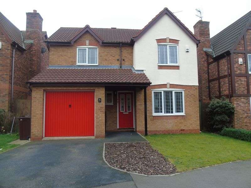 3 Bedrooms Detached House for sale in Balmoral Way, Prescot