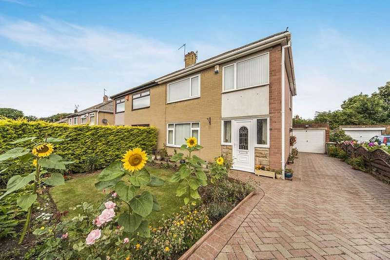 3 Bedrooms Semi Detached House for sale in Hollywalk Drive, Middlesbrough, TS6