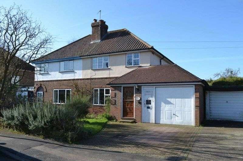 3 Bedrooms Semi Detached House for sale in Estridge Way, Tonbridge