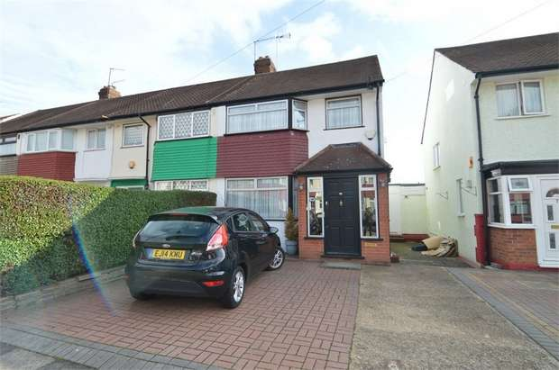 3 Bedrooms End Of Terrace House for sale in Lytton Avenue, Enfield, Greater London