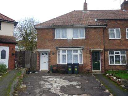 2 Bedrooms End Of Terrace House for sale in Newstead Road, Birmingham, West Midlands