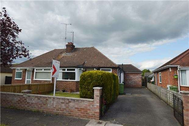 2 Bedrooms Semi Detached Bungalow for sale in Merriville Gardens, CHELTENHAM, Gloucestershire, GL51 8JE